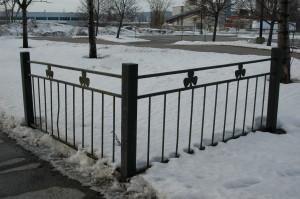 Fence, Irish Memorial, Montreal