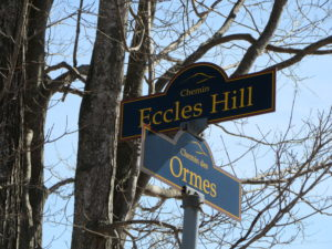 At the corner of Eccles Hill and Ormes, Frelighsburg, Quebec