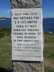 Plaque Remembrance for SS Atlantic Victims